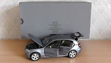 *RARE* KYOSHO BMW 1 SERIES 1er E87 1:18 SCALE DEALERSHIP MODEL COMPLETE WITH BOX