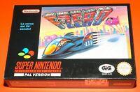 New F-Zero Giochi Games Videogame VideoGioco per Console Nintendo Super Nes Snes