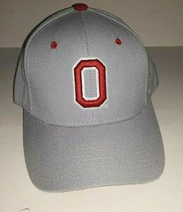 Ohio State Buckeyes NCAA Grey Zephyr Fitted  Hat     size 7 1/8