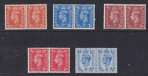 GREAT BRITAIN 1950 Colour Change Pairs MM
