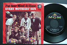 """7"""" Every Mothers son - Put Your Mind At Ease - US MGM"""