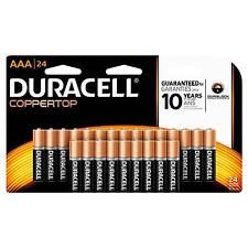 Duracell Coppertop AAA Alkaline Batteries, 24 Count