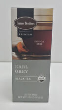 Farmer Brothers Premium: Earl Grey Hot Tea -1 box/25 tea bags - Herbal Tea