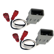 2x Universal Speaker Connector Harness Adapter For Honda Civic Element Accord US