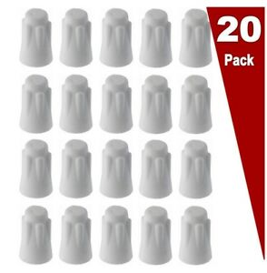(20 Pack LOT) Medium Porcelain Wire Connector, High Temp Ceramic Wire Connector