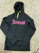 Women's SZ XS NIKE Under Armour 2pc OUTFIT 1 Hoodie & 1 shorts Livestrong