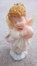 "Roman Cherubim Loving Thoughts Angel Figurine ""Love Me Tender"" Stephanie~Ec"