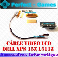 DELL XPS 15Z L511Z Flex lcd video cable connecteur ecran dalle original