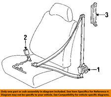 TOYOTA OEM 93-95 Corolla Front Seat Belt-Buckle Right 7323002010B0