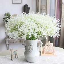 Pretty Artificial Gypsophila Plastic Flower Wedding Bouquet Home Floral Decor