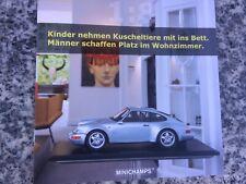1:8 Minichamps 2020 Brochure Porsche 911 917 Benetton F 1 Neu New