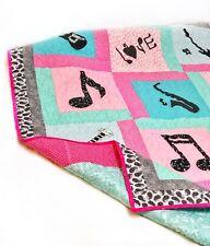 Music Quilt - Music Note Quilt - Girl Quilt