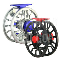 NVC Large Arbor CNC-Machined Fly Reel, 5/6wt, 7/8 wt, 2 colors to choose from