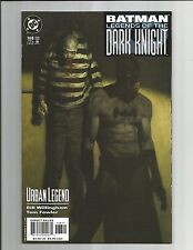 BATMAN LEGENDS OF THE DARK KNIGNT NM- #168 OUTSTANDING WHITE PAGES DC COM  2003