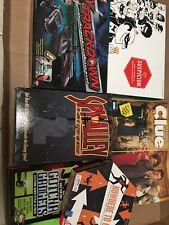 Detective and Spy board games lot CLUE SUSPICION Spy Gear game