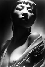 Anna May Wong 11x17 Mini Poster Rare Artsy Portrait In Open Gown Breast Bared