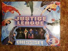Justice League Chess Set Pressman NIS