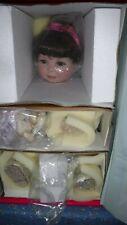 "NIB (Box Damage) Marie Osmond Sophia Brenn 15"" Seated Porcelain Doll C09236"