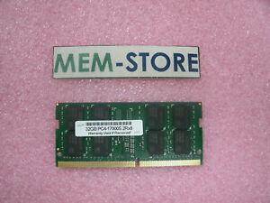 32GB DDR4 2133Mhz Sodimm Memory for Lenovo ThinkPad T470s Black Notebook