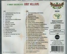 A SWINGIN' CHRISTMAS WITH ANDY WILLIAMS - 2 CD's NEW