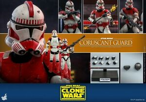 Hot Toys Star Wars The Clone Wars 1/6th scale Coruscant Guard Collectible TMS025