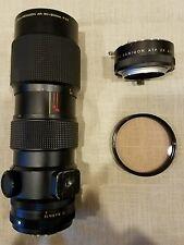 Konica Zoom Hexanon AR 80-200mm F3.5 Camera Lens (7951762) w/ 2x Extender