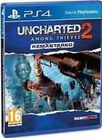 Uncharted 2: Among Thieves Remastered PS4 Playstation 4 Game - Disc Only