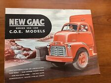 1947 GMC Truck Brochure Series 350-450 C.O.E. Models