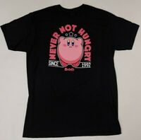 Kirby Never Not Hungry Since 1992 Men's Black XL Short Sleeve T-Shirt