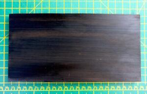 BLACK EBONY. EXOTIC WOOD. Ideal for Scales - Straight Razor, Knife Restoration.