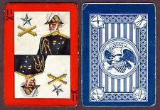 Antique USA, Militac Game playing cards, c1910