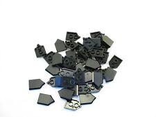LEGO Black Tile Modified 2x3 Pentagonal Lot of 25 Parts Pieces 22385