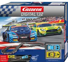 Carrera Digital 132 30011 GT Race Battle 1/32 Slot Car Racing Set