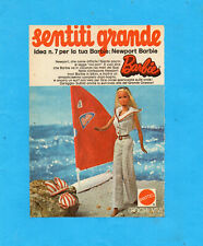 TOP974-PUBBLICITA'/ADVERTISING PAGE-1974- MATTEL - BARBIE NEWPORT