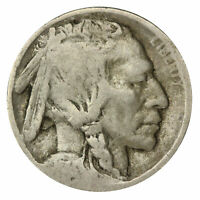 1914 -D Buffalo Nickel 5c Cent Almost Good AG Condition