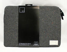 "HEX Monarch Canvas Sleeve Pouch Case for MacBook Pro 15"" w/Retina (Gray Tweed)"