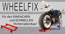 Wheelfix, die dritte Hand für den einfachen Hinterradeinbau Honda CBR 1000 RR