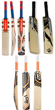 3 in 1 Pack KOOKABURRA ONYX + GN KABOOM+ SPARTAN Cricket Bats +Free Nokd~Oil
