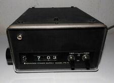 Vintage-Kenwood Power Supply PS-5-Netzteil-13,8 V-Rollzahlen-Klappzahlen-Uhr-top