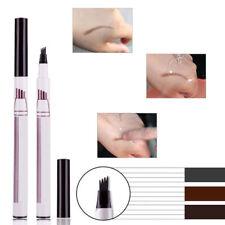 Eyebrow Tattoo Pen Makeup Microblading Fork Tip Sketch Eye Brow Pencil