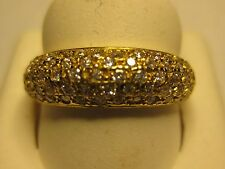 NEW 19k Yellow gold Ladies RING from Portugal   Size 6.0 or 7.5    #06-123