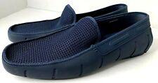 ROBERT WAYNE Floats Men's navy blue rubber slip on shoes Size 11D