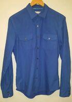 "Mens Shirt size 40"" Blue River Island<MJ3369"