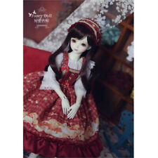 Handmade by yourself Diy Christmas Dress Clothes Lolita for 1/6 1/4 Bjd Sd Doll