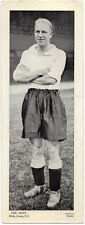 Plain Back Photograph Eric Keen Derby County F C 1930 to 1938 Derbyshire R P