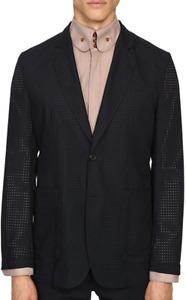 Vivienne Westwood Navy Blue Laser Wool Summer Jacket Men's Size EU 50 83532