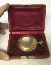 Antique Elgin 17 Jewel Pocket Railroad Watch Gold Filled Plated