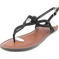 Calzado de mujer sandalias con tiras negro Fergalicious