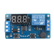 12VDC Delay Timer Control Switch Relay Module With LED Digital Display N2CX