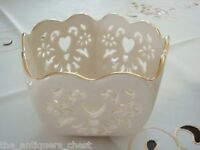 "Lenox ""Eternal Hearts"" bowl, excellent condition, looks new[2-4]"